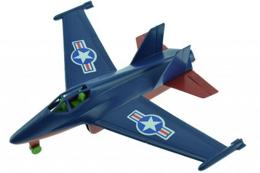 Avião Super Caça Jato de Plástico