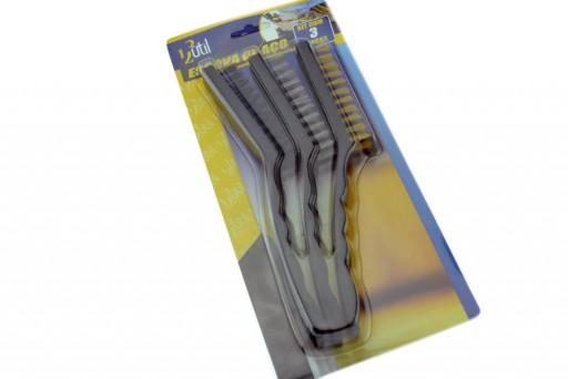 Escova de Aço GRANDE Jogo com 3 Unidades