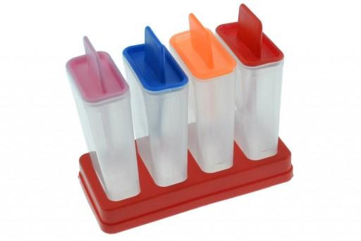 Forma para Fazer Sorvete Kit com 4 Unidades