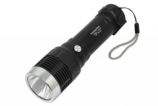 Lanterna de Mão De Led com Potência de 1 Watts Super Forte Recarregável