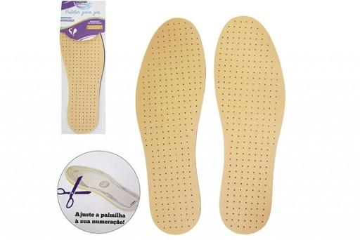 Palmilha Anatômica Ajustável para Calçados da númeração 35 a 46
