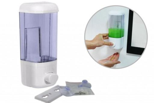 Porta Sabonete Líquido e Dispenser para Álcool Gel e Detergente 600 ml