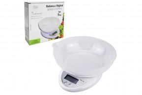 Balança Digital de Precisão com Tigela Removível pesa 1 grama até 5 kl
