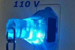 Chaveiro Identificador de Voltagem 110V e 220V