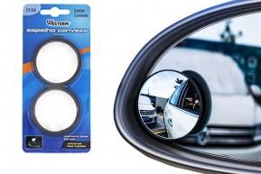 Espelho Redondo 5 cm Convexo Auto-adesivo para Retrovisor de Carro 2 Unidades