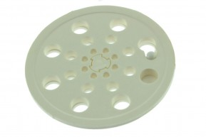 Ralo Plástico Japonês Abre e Fecha REDONDO PEQUENO 9,5 x 9,5 cm
