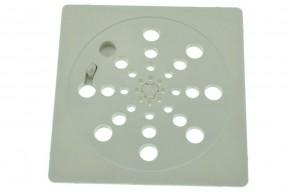 Ralo Plástico Japonês Abre e Fecha QUADRADA GRANDE 15 x 15 cm