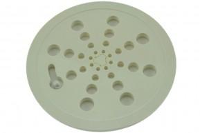 Ralo Plástico Japonês Abre e Fecha REDONDO GRANDE 15 x 15 cm