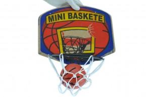 Mini Cesta de Basquete com Tabela e Bola