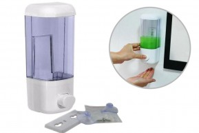 Porta Sabonete Líquido e Dispenser para Álcool Gel e Detergente 580 ml
