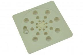 Ralo Plástico Japonês Abre Fecha QUADRADA PEQUENO 9,5 x 9,5 cm