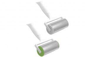 Rolo de Aço Inox para Massa com Cabo de Plástico